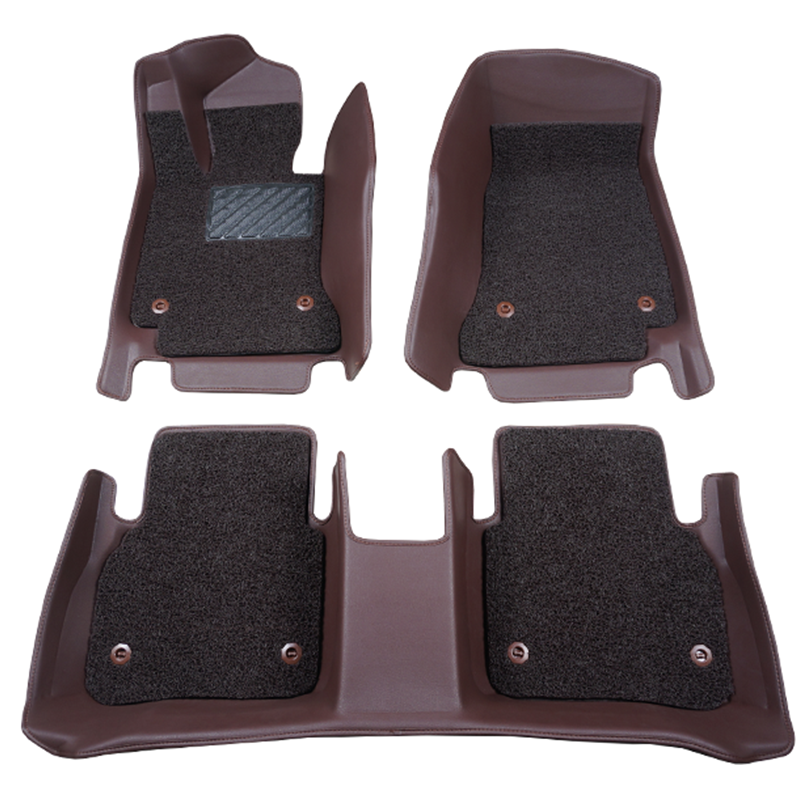 New type leather 5D car carpet mat for hot models