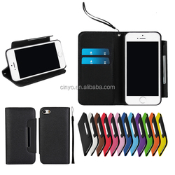for iphone se leather case, for iphone 5s 5 wallet cover with cards slots holder