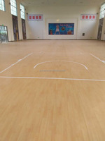 new pvc sports flooring for basketball court good supplier