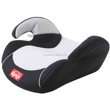 child booster cushion car seat with ECE R44/04 certification (group 2+3), for 3-12 years old baby, 15-36kgs