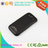 High quality 3200mah extended battery case for samsung galaxy s3, backup battery