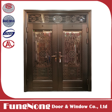 SUS304 Residential Safety Entry Stainless Steel Door Design,Best Price Luxury House Front Double Security Main Door Grill Design