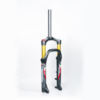 "snow bike 20"" magnesium alloy air fat bicycle suspension fork"