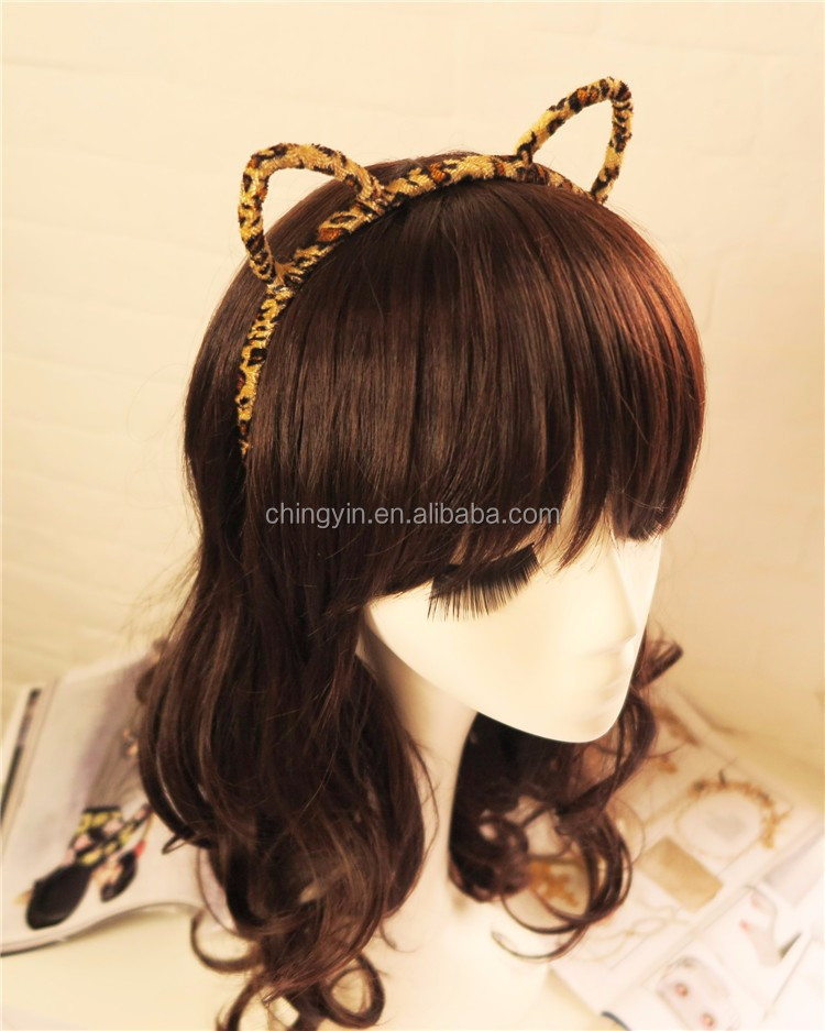 Animal Felt Cat Ear Small Headband Hair Band Hair Accessories for kids