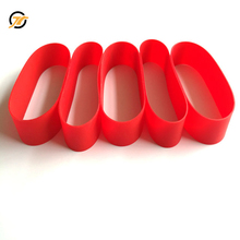 Food grade silicone rubber elastic bands for caviar tin