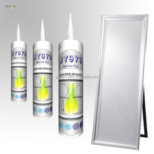 China factory non toxic special mirror fix neutral mildew clear adhesive mirrors silicone sealant