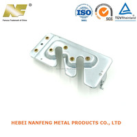 OEM high precision automobile metal pressings parts with ventilator chevis production