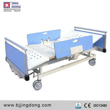 Manual Hospital Nursing Bed with 3 functions in Medical Furniture