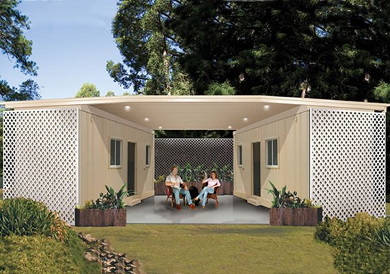 Prefabricated Modular Shipping Residential Container House Design