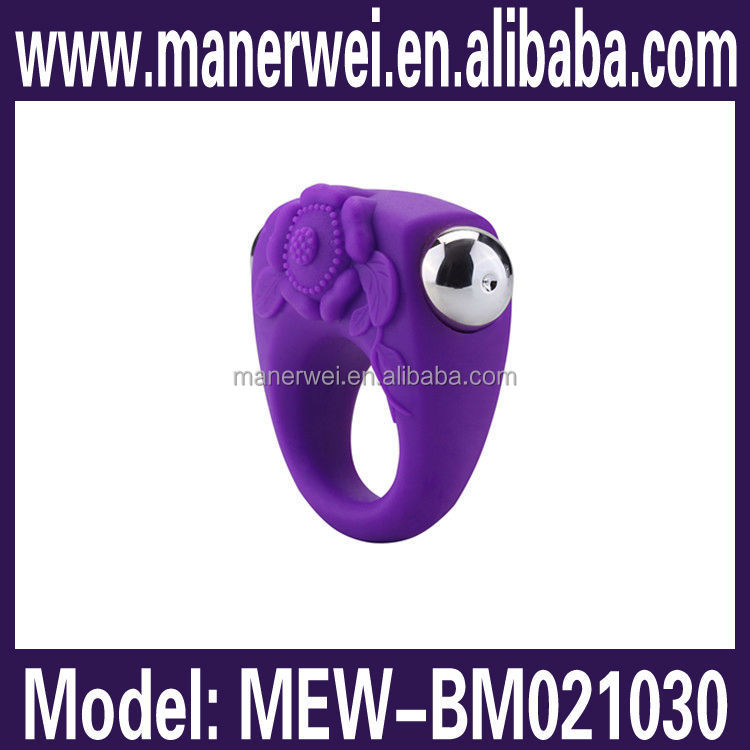 Different color available 4 speed for male stimulation c-string cock ring vibrator