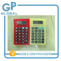 New style top sell logo branded mini calculator