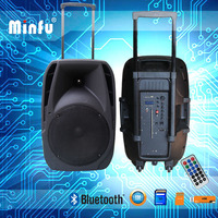 best quality heavy bass trolley top pro speaker