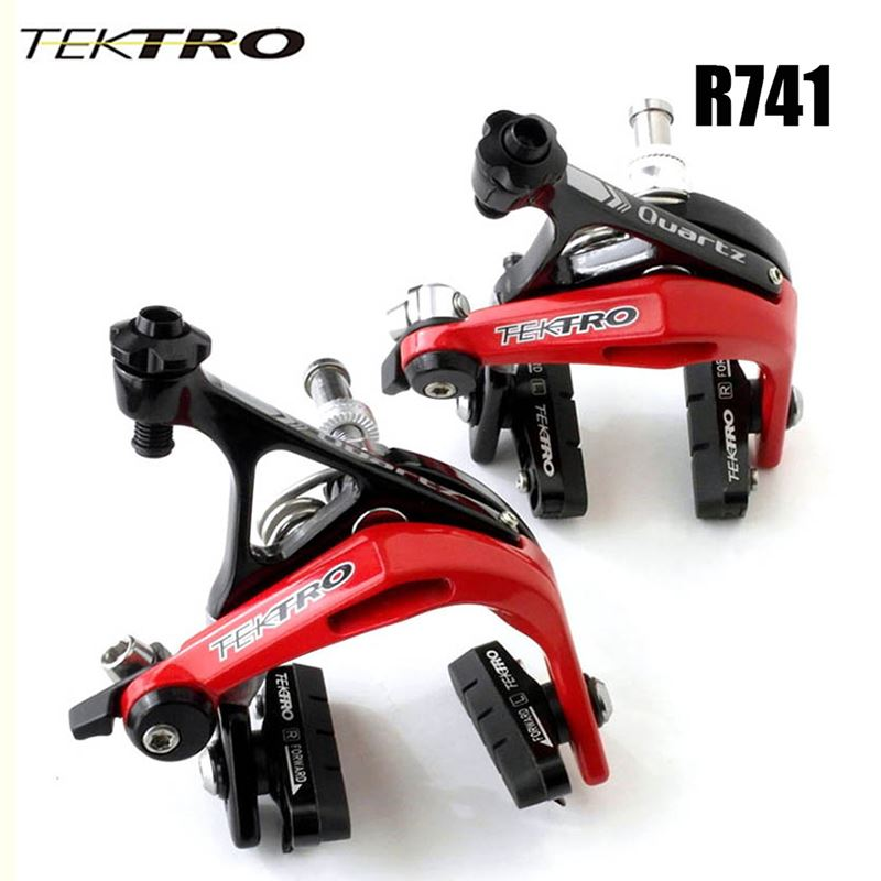 Tektro Super Light Taiwan 300g/pair R741 Aluminum Brake Caliper Road bike <strong>C</strong> brake Clamp