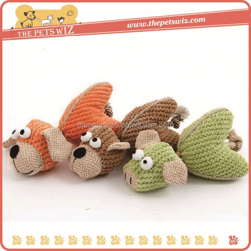 Small round plush toys ,CC019 halloween plush dog toy with squeak , pocket pets toys