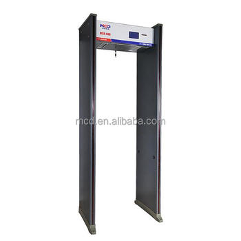 Walk Through Metal Detector for Commercial Buildings, School /Waterproof Walkthrough Metal Detector