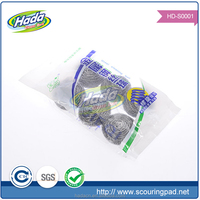 plastic mesh scourer price, kitchen cleaning ball