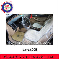 Transparent disposable plastic car seat cover ZX