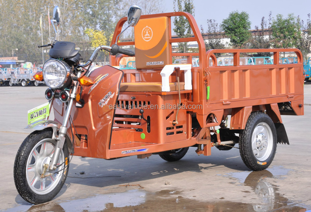 Three wheel gasoline tricycle for cargo 120CC