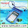 mobile phone pvc waterproof cell phone bag disposable