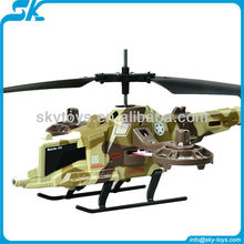 S807 Snow Fox 4ch rc helicopter toys with gyro & searching light rc aircraft