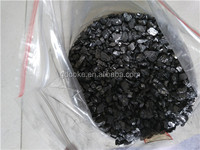 Calcined anthracite coal/carbon addtive FC85-95% for steelmaking used