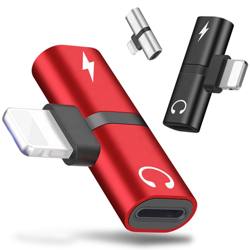 <strong>2</strong> in <strong>1</strong> Mini adapter for iphone <strong>X</strong>/XS/XR/XS MAX ,Android ,Type C. listening and charging