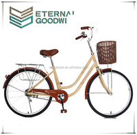 Hot sale two wheel bike/bicycle girls beach cruiser bike colorful lady retro fashion Pastoral style bike/giant bikes Model