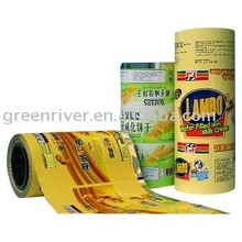 Automatic packing roll films