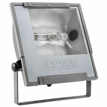 Gewiss Mercurio aluminum Flood light