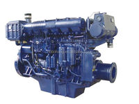 Weichai WP4 diesel marine engine 60Kw for yacht boat inboard with gear
