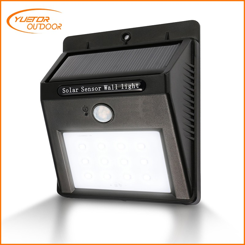 Factory Supply Directly 80 led outdoor solar motion light made in China YTS-1001