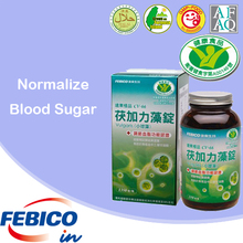 Functional Food Supplement Chlorella Vulgaris Tablets Normal Lower Blood Sugar Naturally