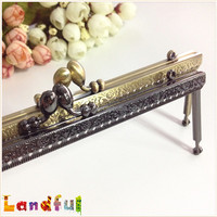 20cm High Quality Beautiful Pattern Handicraft Accessories Coin Purse Frames