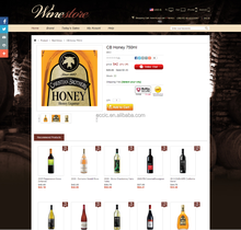 iShop4 Series Website Design for Wine at Reasonable Price