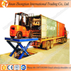 Hot sale ! --10t Stationary hydraulic electric scissor cargo lift/car lift