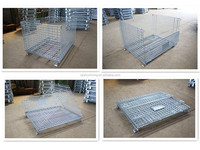 Most Popular Steel Foldable Mesh Wire Storage Cage