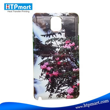 3D Sublimation Cell Phone Case for Samsung Galaxy Note3 ,Fast Delivery