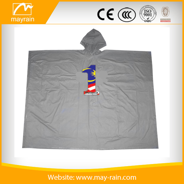 PVC Bike rain poncho waterproof