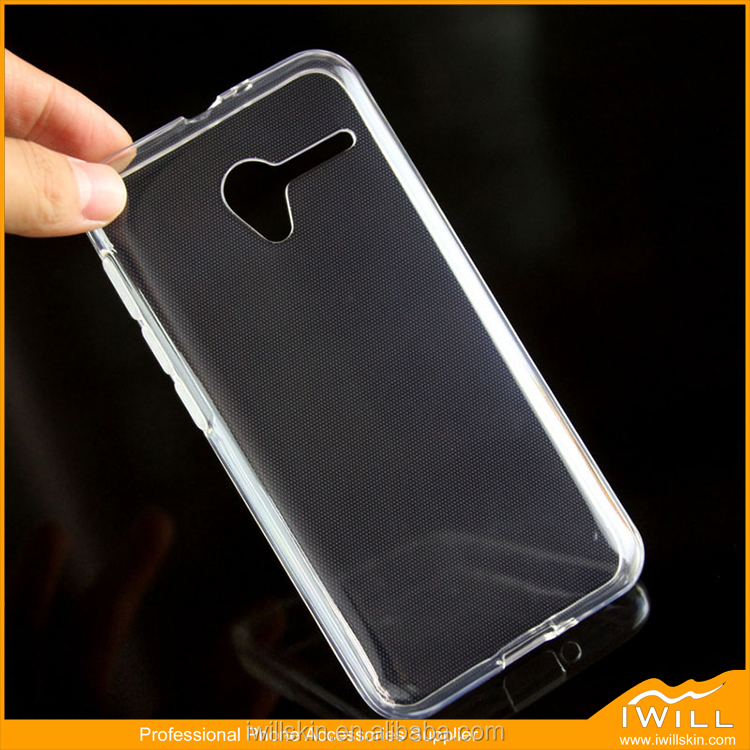 Clear Transparent TPU Gel Cover For Vodafone Smart Speed 6 Phone Case