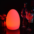 Battery operated rechargeable led restaurant dinner table lamp
