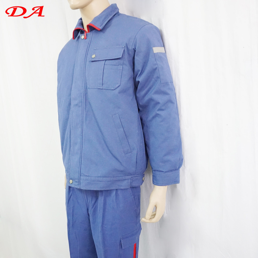 100 Cotton Padded workwear Winter Work Overalls For Adults