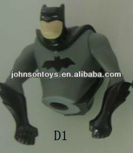 CE OEM plastic vinyl pvc batman cartoon toy