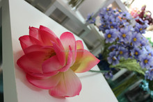 artificial wholesale water lily flower ,fake lotus wholesale
