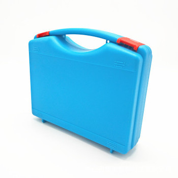 custom colour plastic handle carrying tool case / plastic hand tool storage case / plastic equipment case