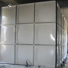 50 cubic meter customized attractive appearance buffer fabric cattle fibreglass thermal chilled water tank