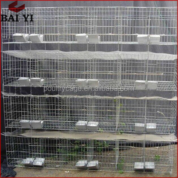 Hot Sale 4 Level Commercial Wire Rabbit Breeding Cages
