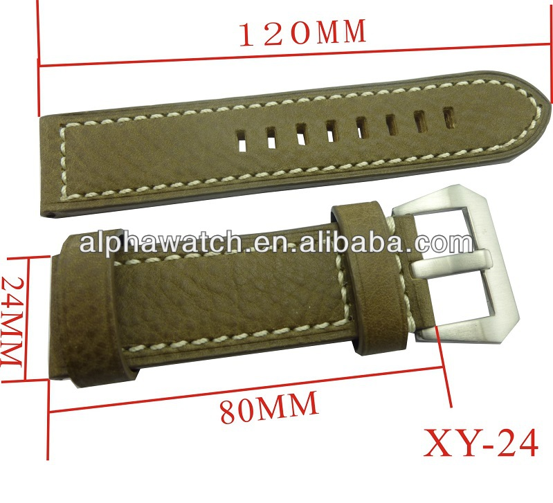 master leather watch band