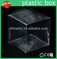 China Manufacture Wholesale OEM Custom Printed small clear hard plastic boxes