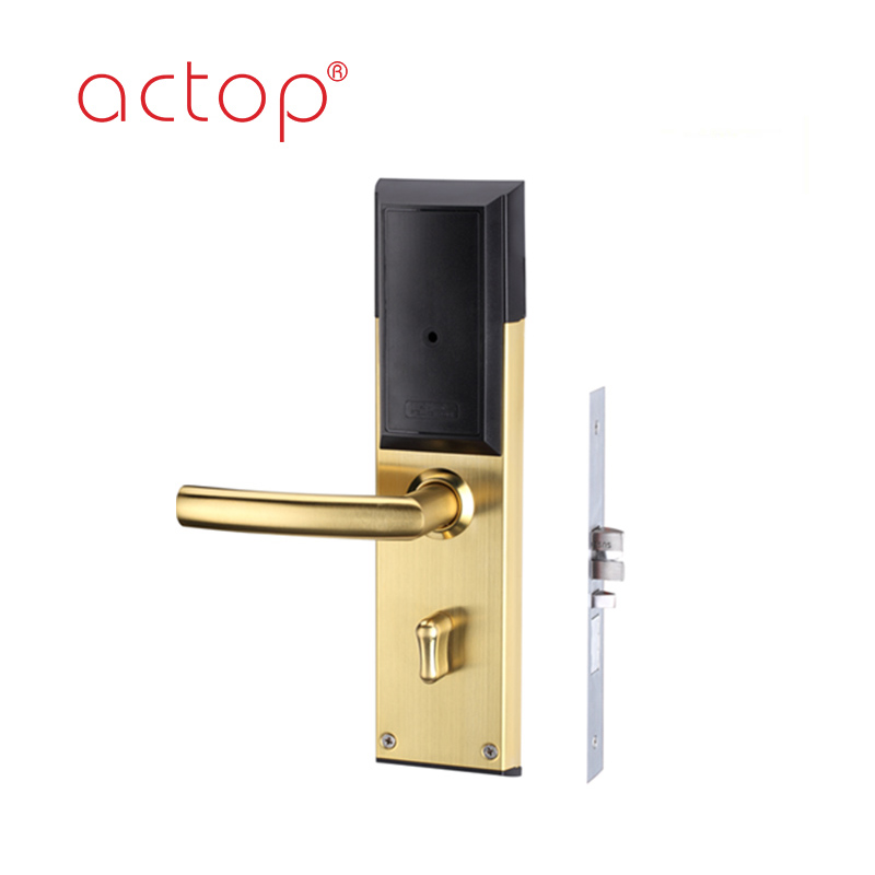 2018 Hot sale hotel door lock system,hotel room door lock,hotel key card lock