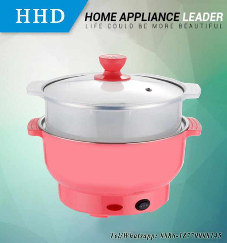 Taobao Onling Shopping Plastic Thermos Electric Food Steamer With Glass Lid
